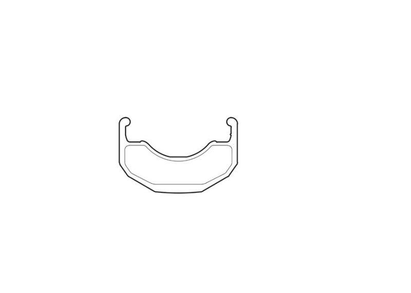 Amsler ARGON PRO front rim, alloy welded, 36 ho